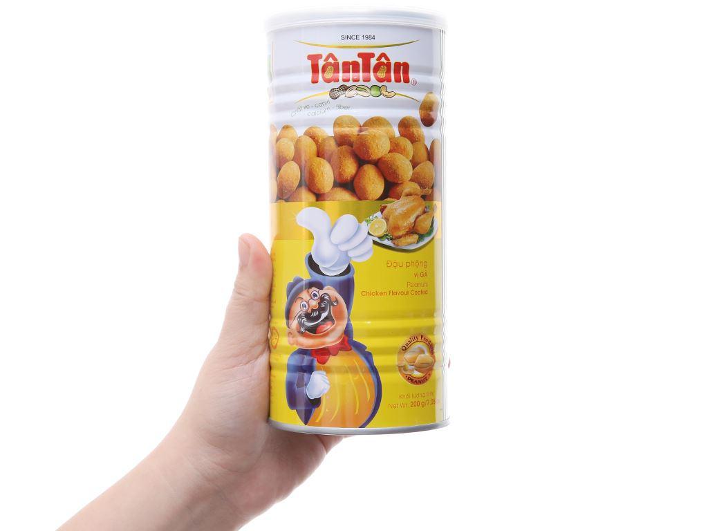 Đậu phộng vị gà Tân Tân lon 200g 3