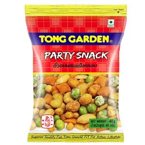 Snack và đậu hỗn hợp Tong Garden gói 40g