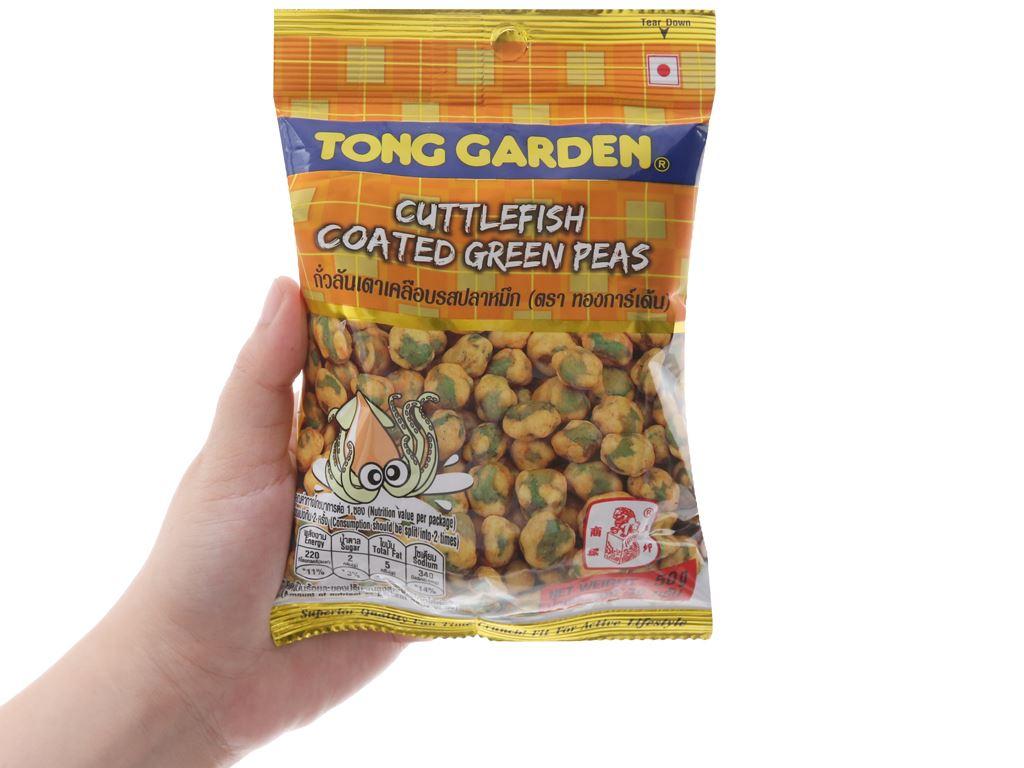 Đậu Hà Lan bao mực Tong Garden gói 50g 5