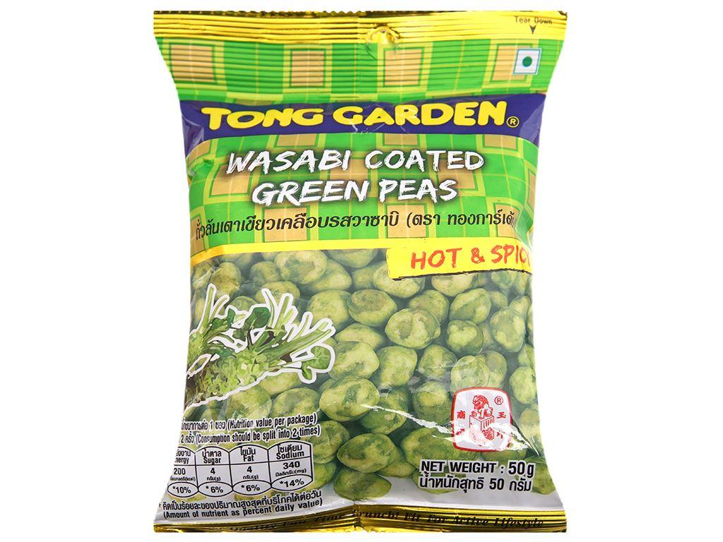 Đậu Hà Lan vị mù tạt Tong Garden gói 50g 1