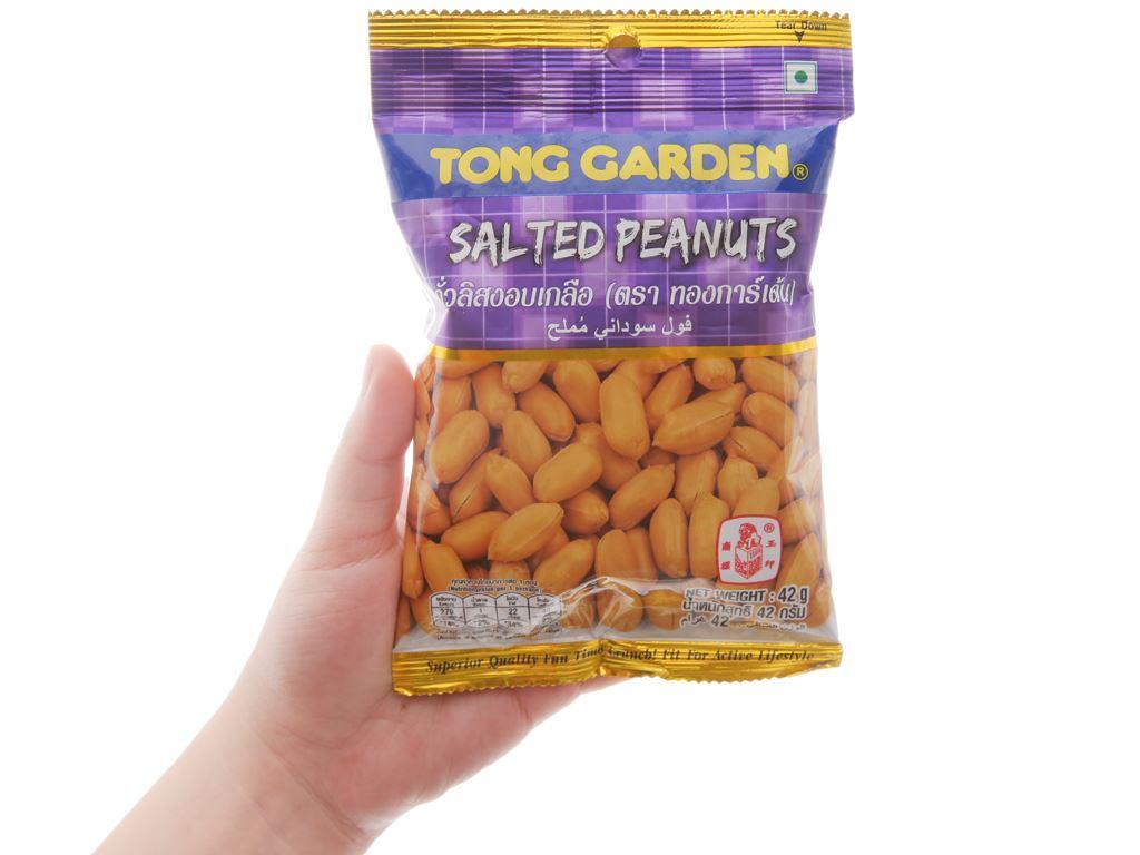 Đậu phộng rang muối Tong Garden gói 42g 3