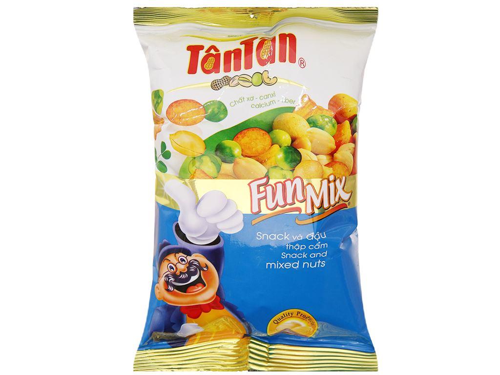 Snack và đậu thập cẩm Fun Mix Tân Tân gói 60g 1