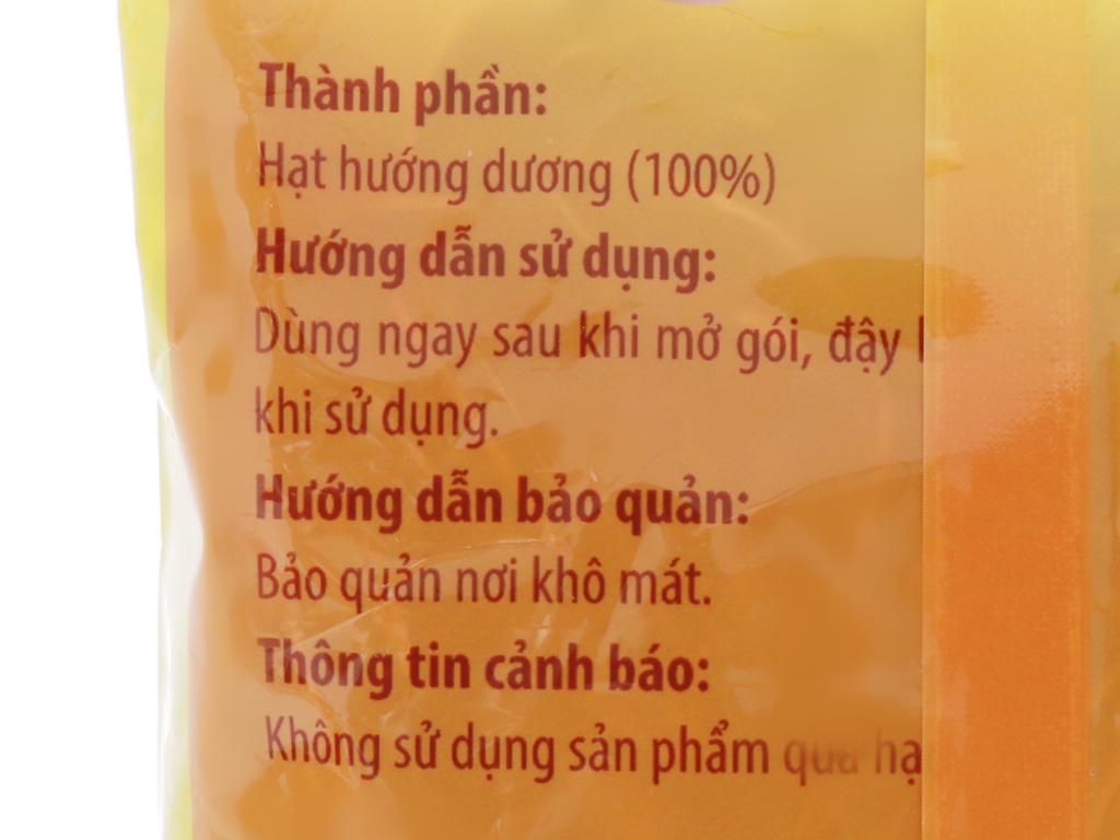 Hạt hướng dương Hương Việt gói 160g 7