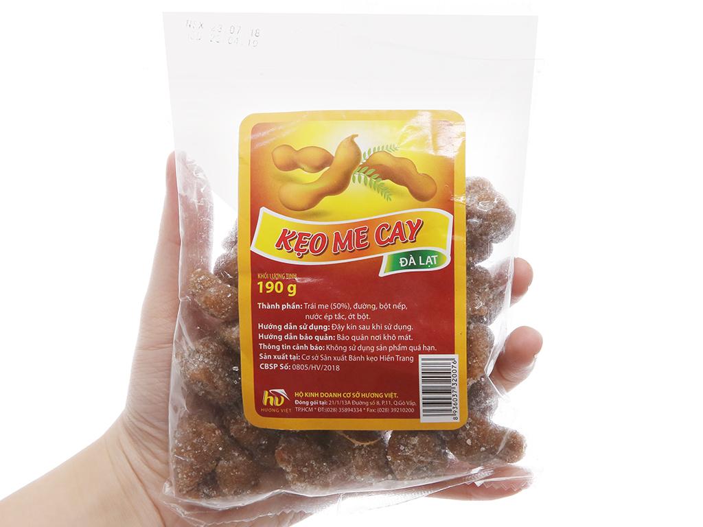 Kẹo me cay Hương Việt gói 190g 3