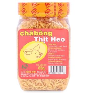 Chà bông heo Hương Việt hũ 65g