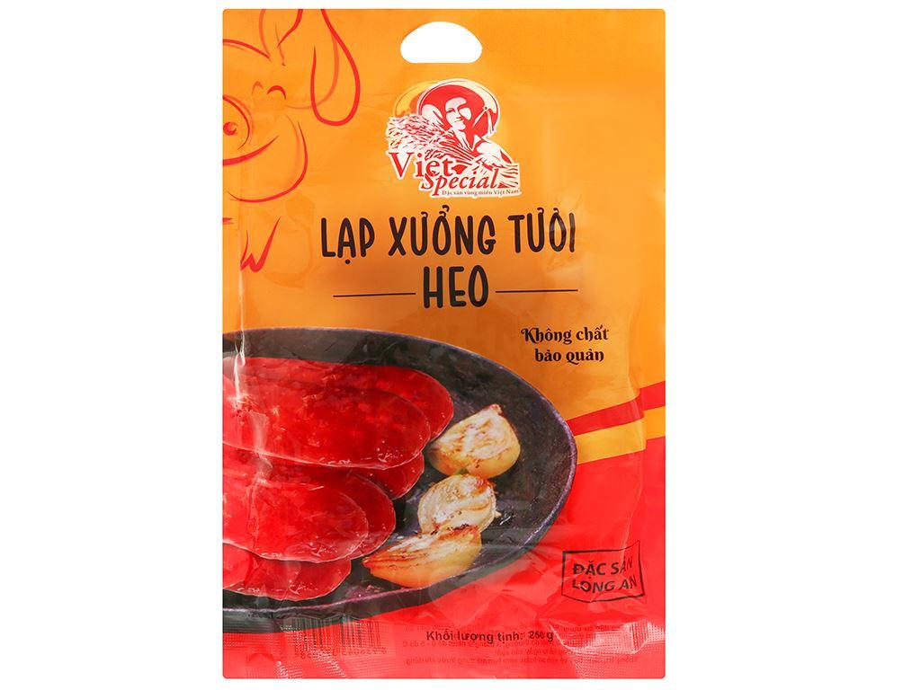 Lạp xưởng tươi heo Việt Special gói 250g 1