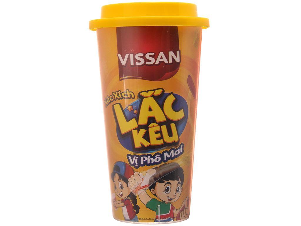 Xúc xích lắc kêu vị phô mai Vissan ly 49g 2