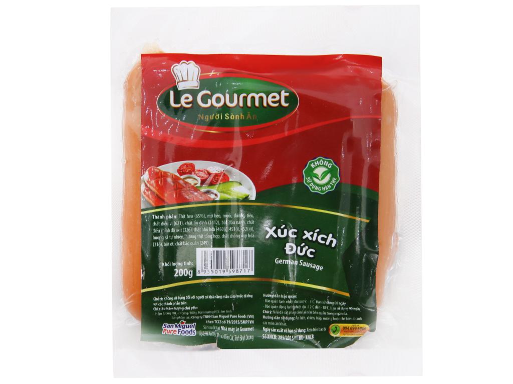 Xúc xích Đức Le Gourmet gói 200g 2