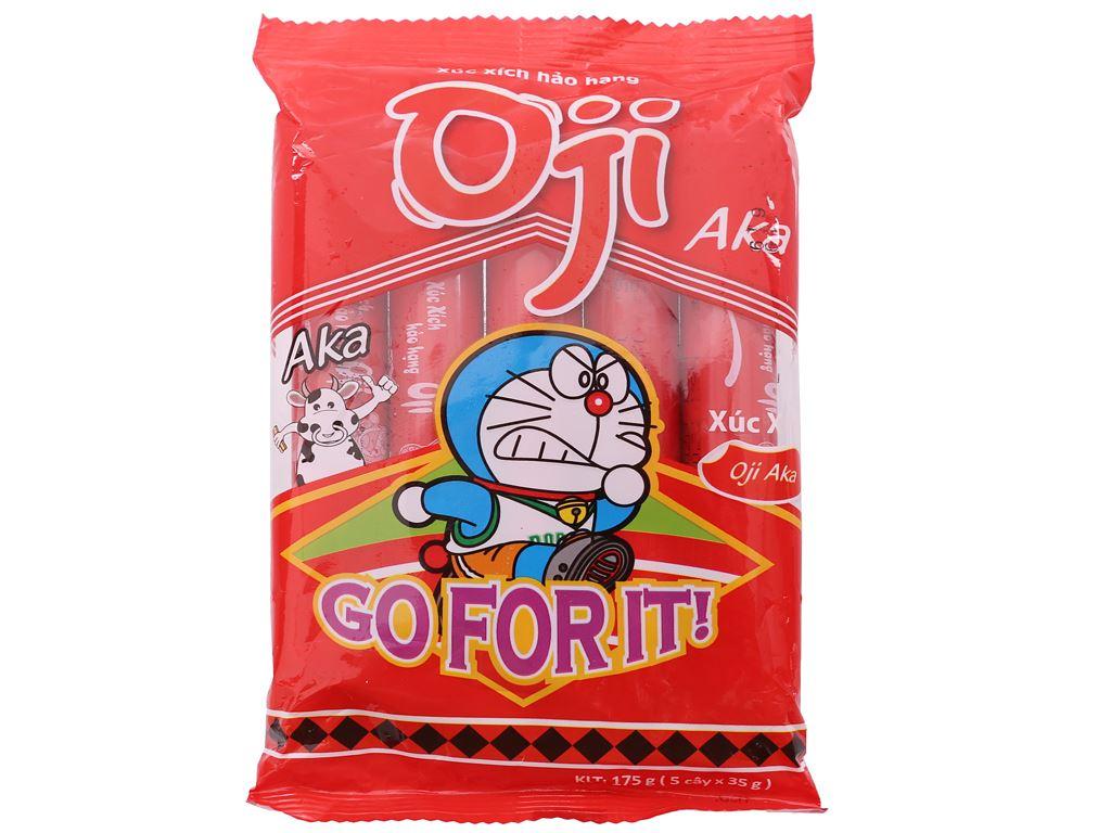 Xúc xích hảo hạng hương bò Aka Oji gói 175g 1