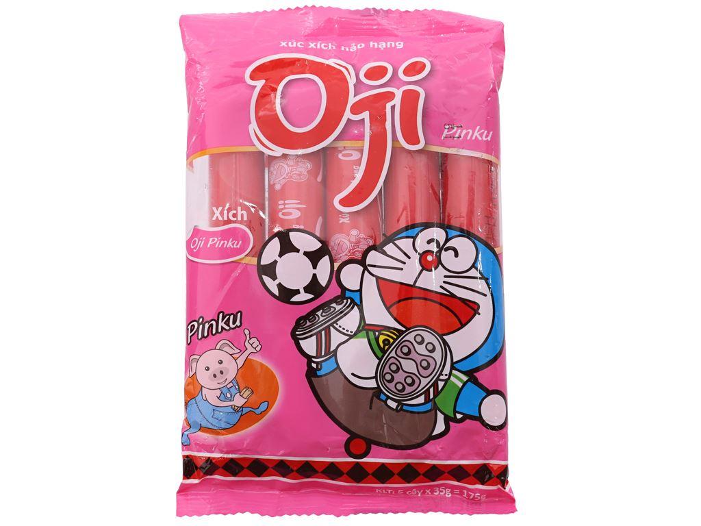 Xúc xích heo hảo hạng Pinku Oji gói 175g 2