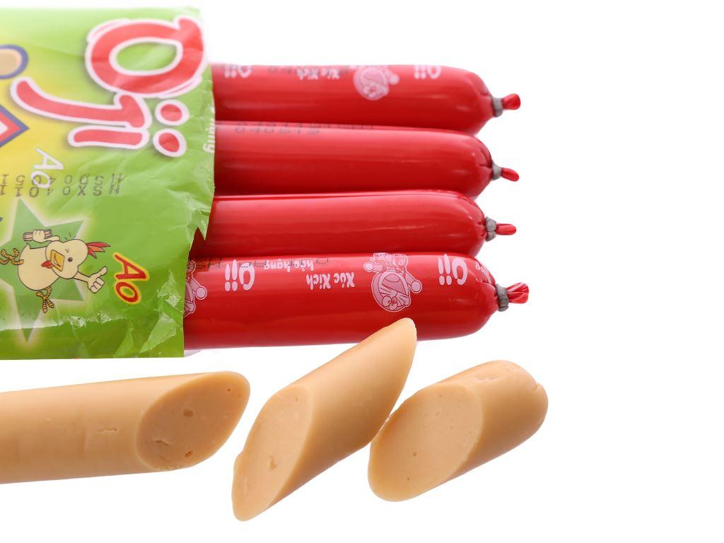 Xúc xích gà Ao Oji gói 175g 4