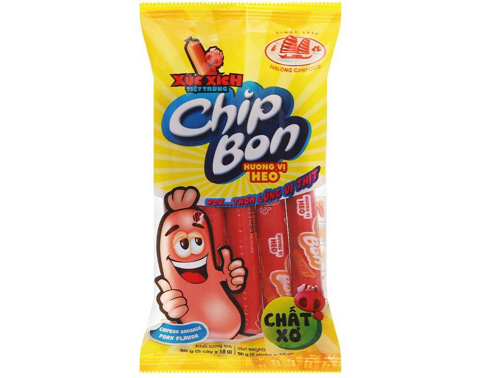 Xúc xích vị heo ChipBon gói 90g 1