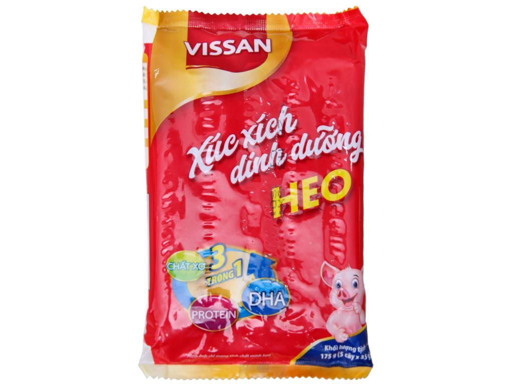 Xúc xích heo dinh dưỡng Vissan gói 175g 2