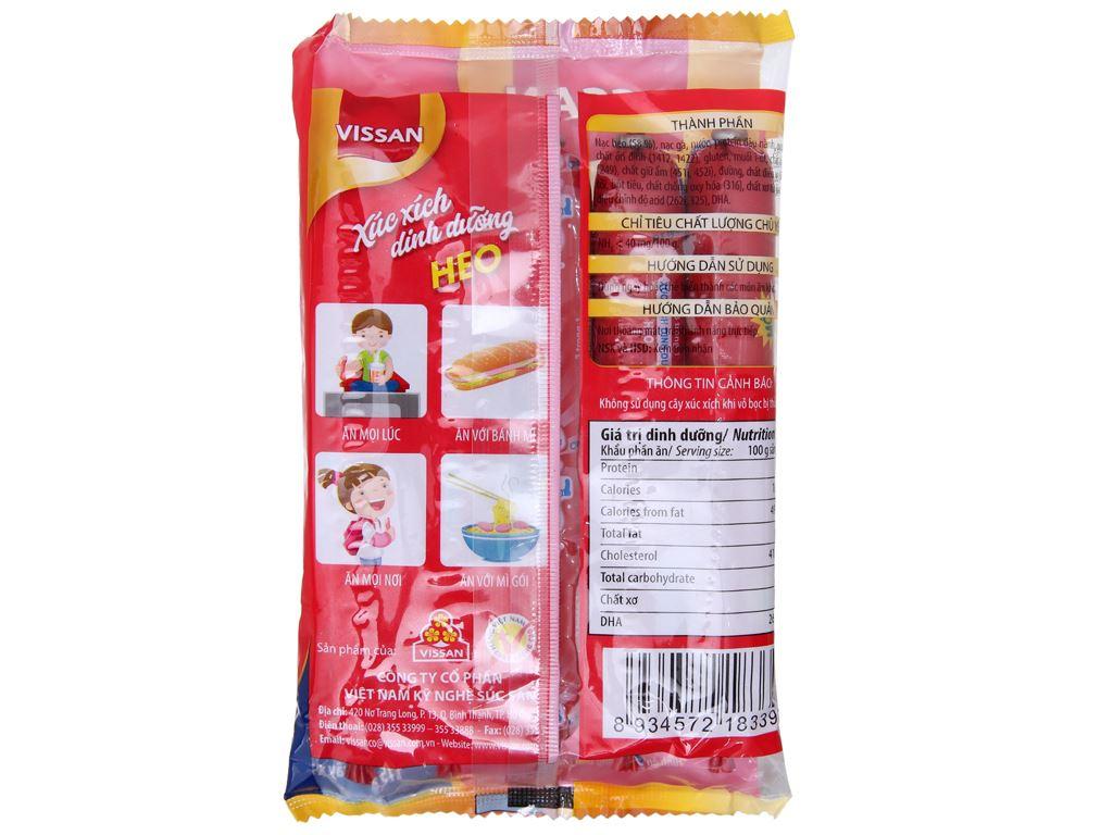 Xúc xích heo dinh dưỡng Vissan gói 175g 3