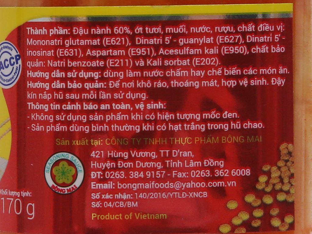 Chao Bông Mai hũ 170g 3