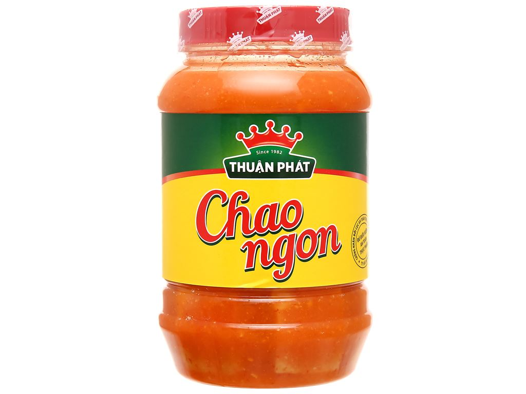 Chao ngon Thuận Phát hũ 510g 1