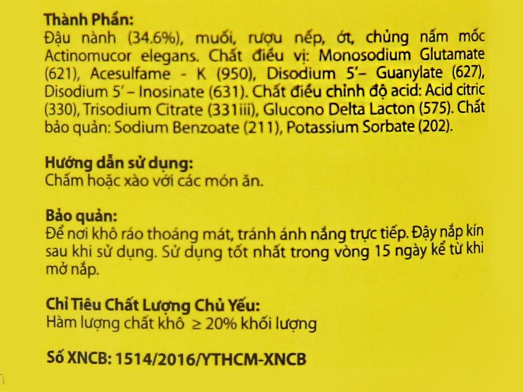 Chao Thuận Phát hũ 250g 5