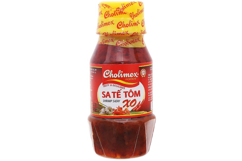 Sa tế tôm XO Cholimex chai 100g