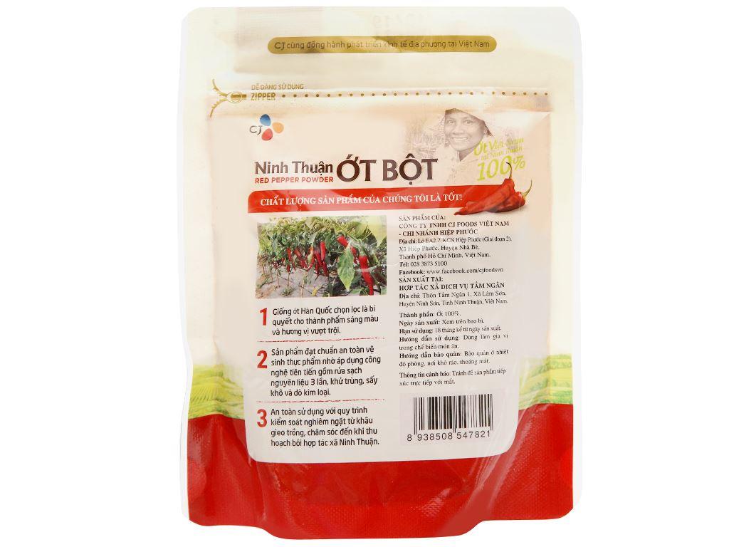 Ớt bột Ninh Thuận CJ Food gói 100g 7