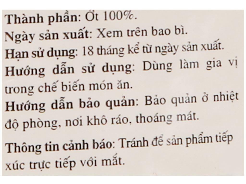 Ớt bột Ninh Thuận CJ Food gói 100g 8