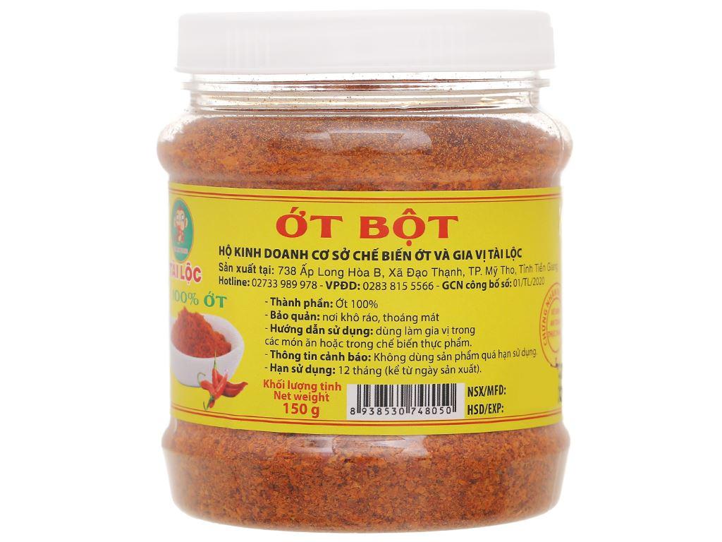 Ớt bột Phạm Tân hũ 150g 1