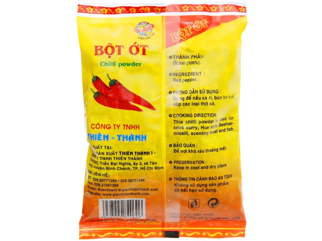 Bột ớt Thiên Thành gói 100g 6