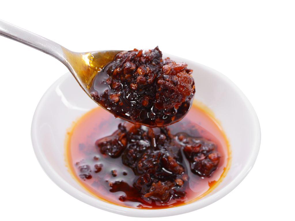 Ớt chưng dầu vị gà Lao Gan Ma hũ 280g 5