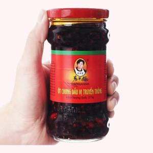 Ớt chưng dầu vị truyền thống Lao Gan Ma hũ 275g