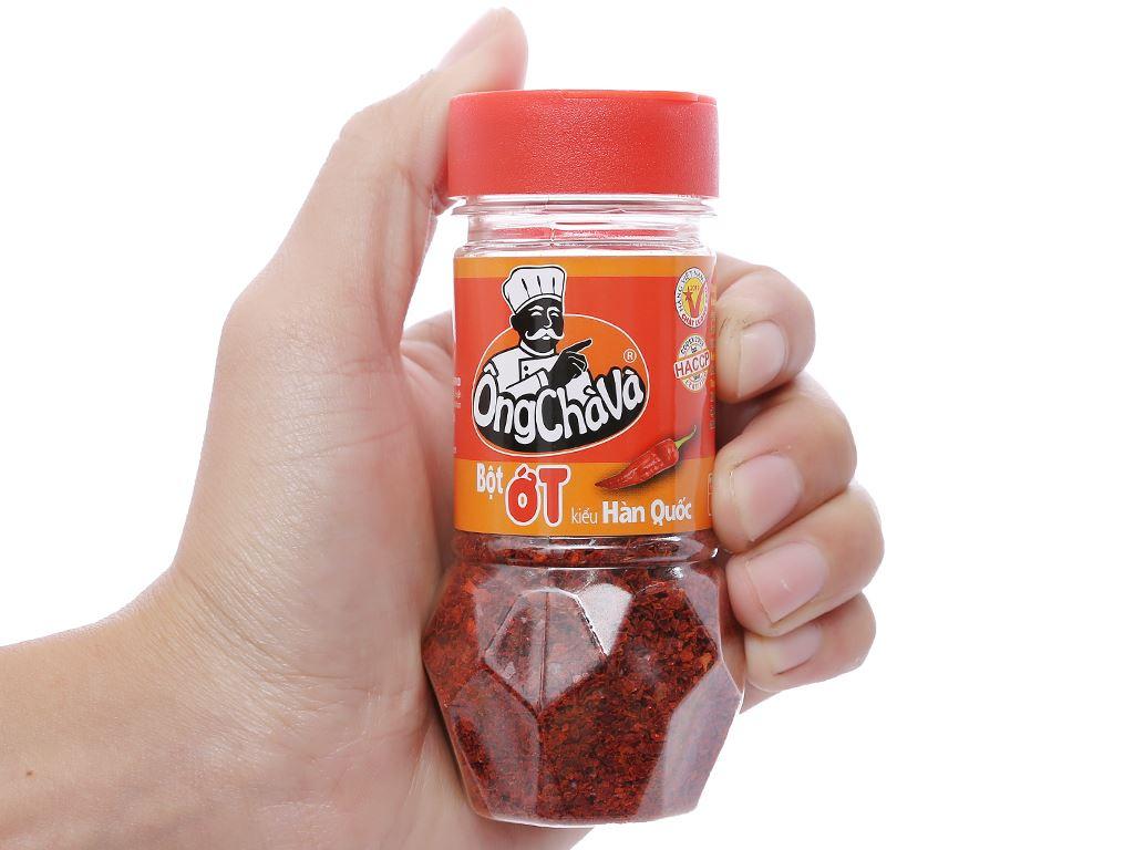 Bột ớt kiểu Hàn Quốc Ông Chà Và hũ 40g 4