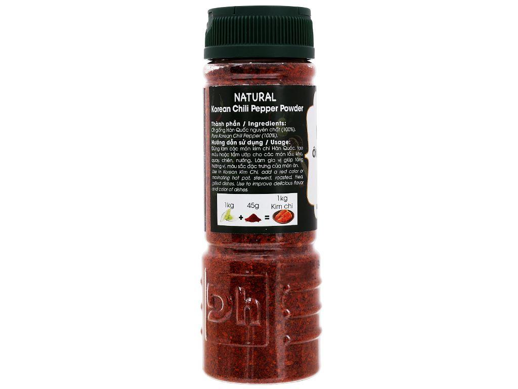 Ớt bột Hàn Quốc Natural Dh Food hũ 90g 4