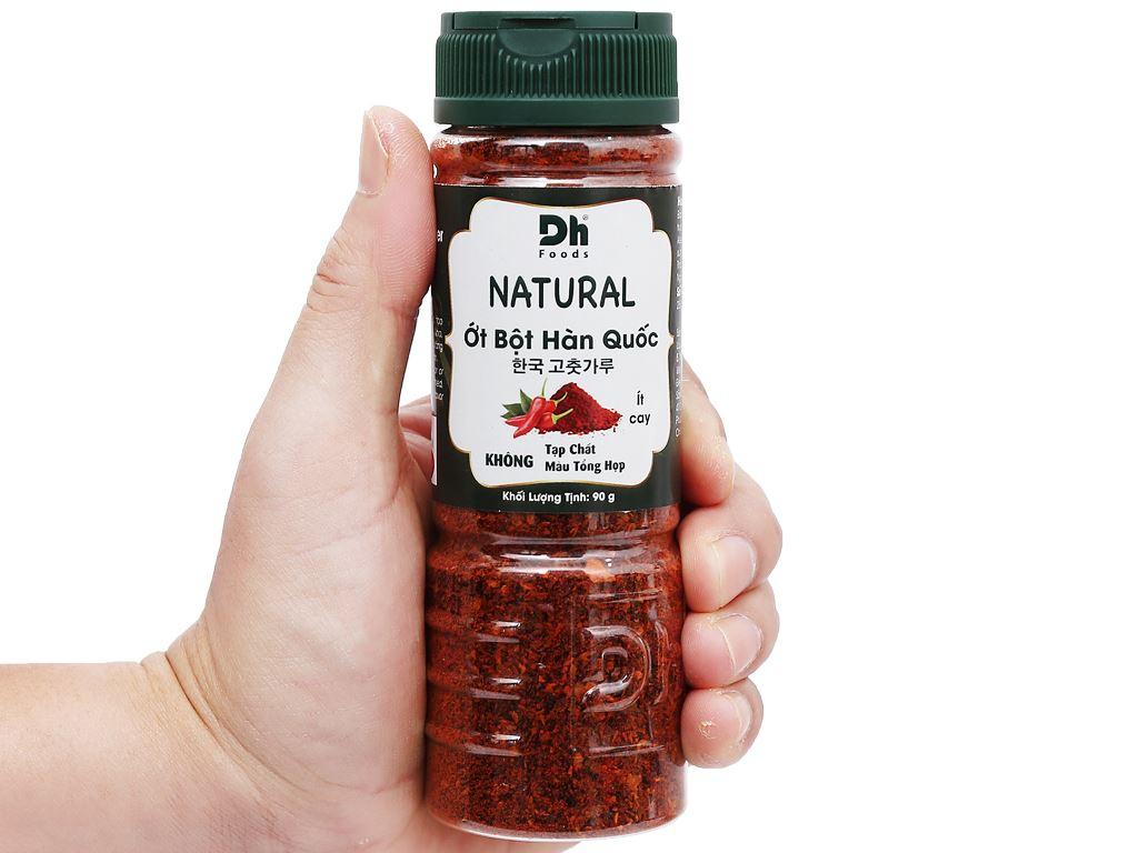 Ớt bột Hàn Quốc Natural Dh Food hũ 90g 7
