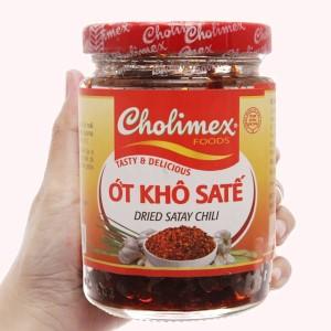 Ớt khô sa tế Cholimex hũ 100g
