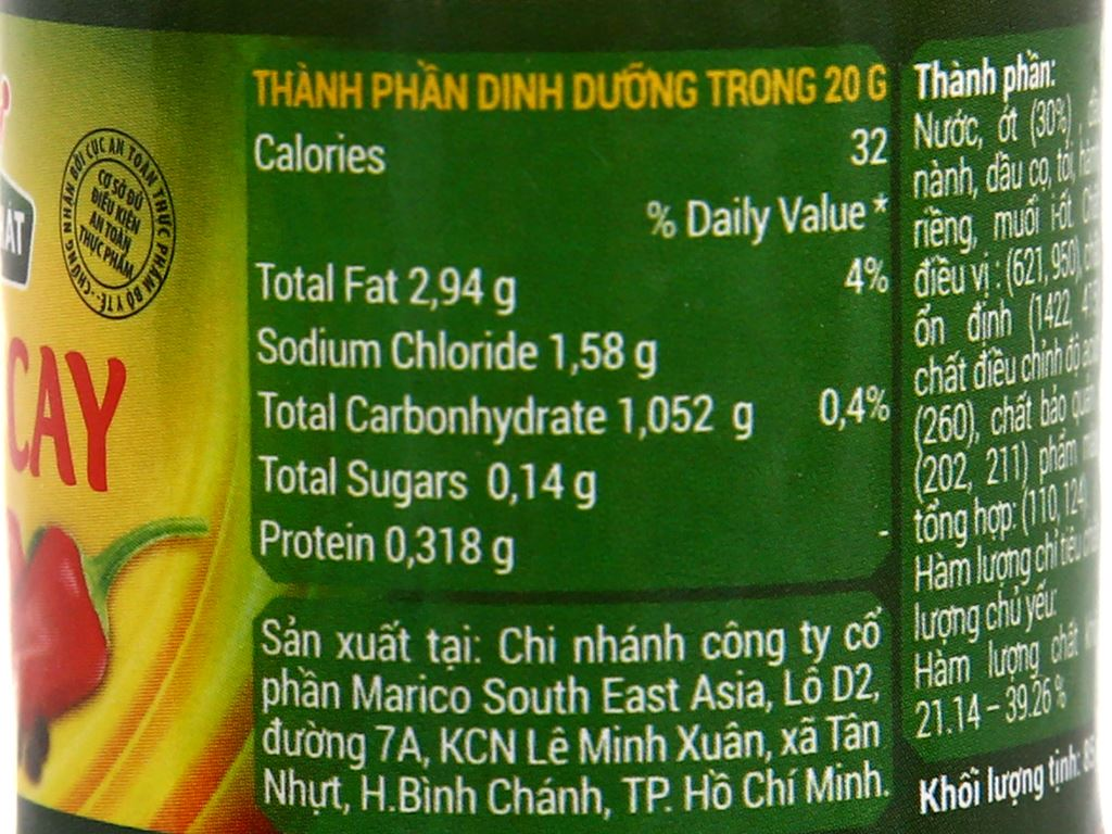 Sa tế cay ngon Thuận Phát hũ 85g 5