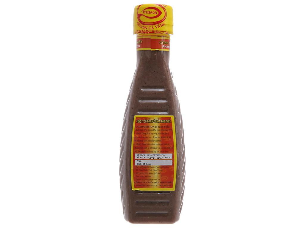 Mắm tôm Con Cá Vàng Phan Thiết Fisaco chai 200g 3