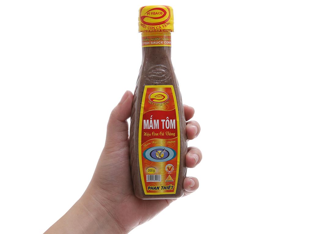 Mắm tôm Con Cá Vàng Phan Thiết Fisaco chai 200g 4