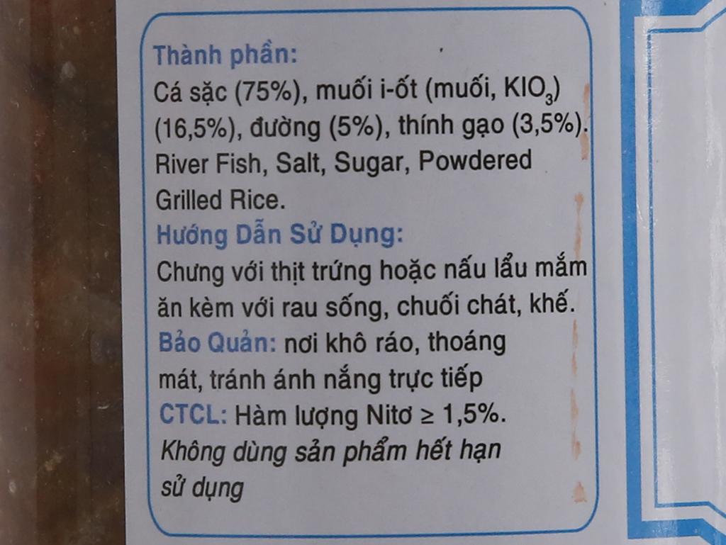 Mắm cá sặc Sông Hương 400g 3