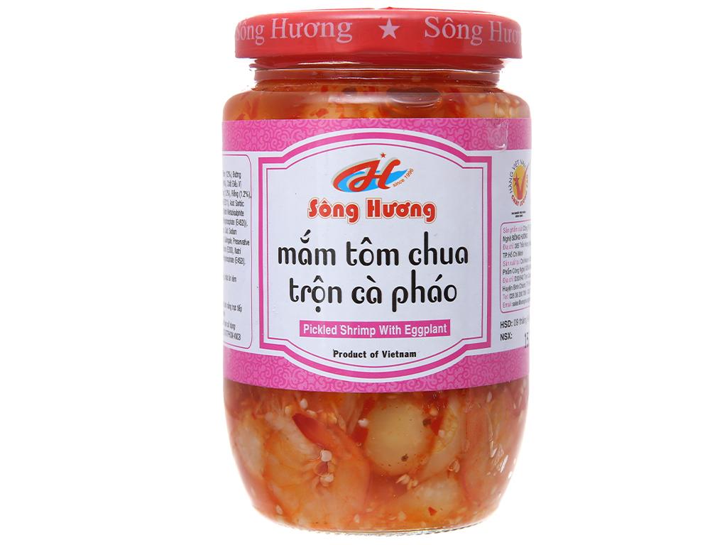 Mắm tôm chua trộn cà pháo Sông Hương hũ 430g 2