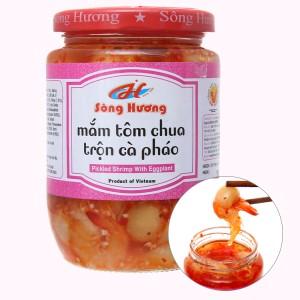 Mắm tôm chua trộn cà pháo Sông Hương hũ 430g