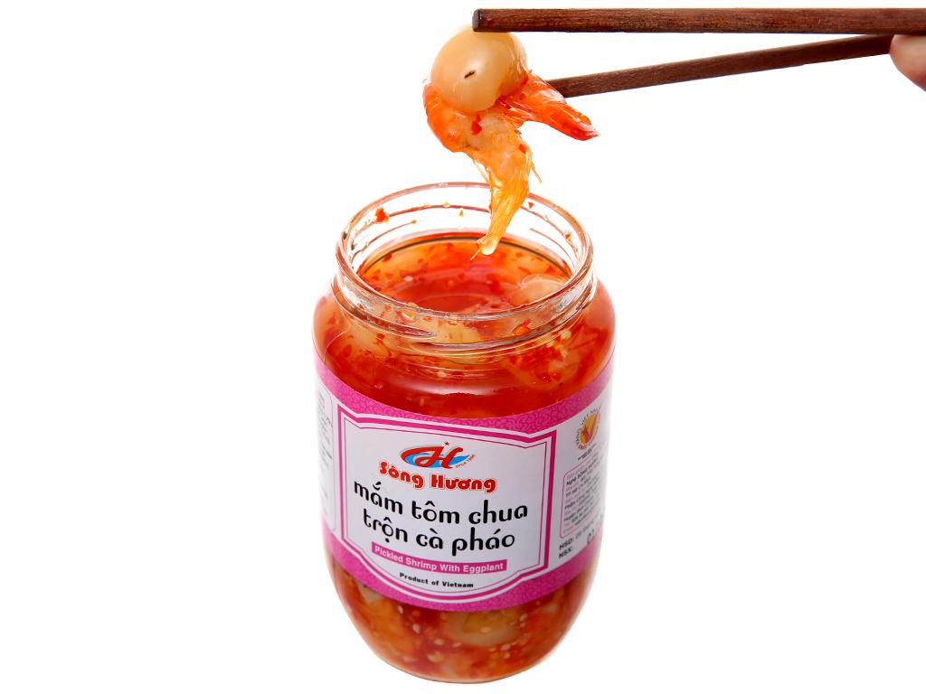 Mắm tôm chua trộn cà pháo Sông Hương hũ 430g 5