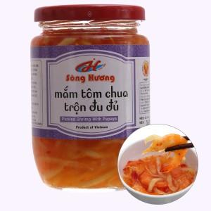 Mắm tôm chua trộn đu đủ Sông Hương hũ 430g