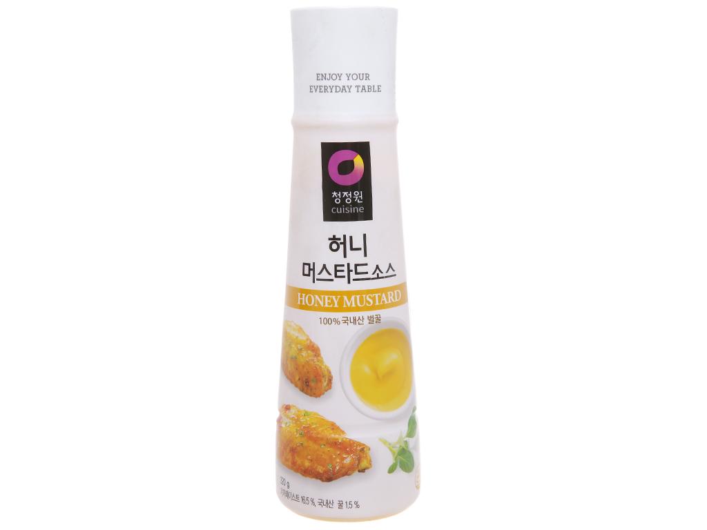 Sốt mù tạt mật ong Chung Jung One chai 320g 1