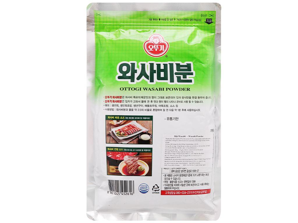 Bột wasabi Ottogi gói 300g 2