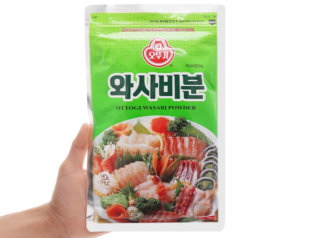 Bột wasabi Ottogi gói 300g 4