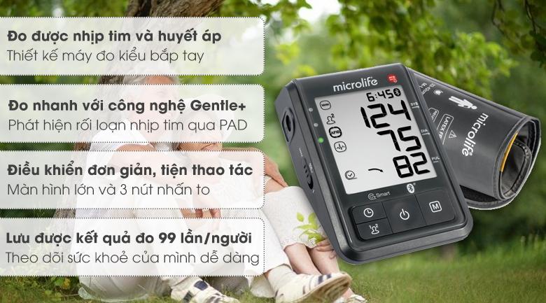 Máy đo huyết áp tự động Microlife B6 Advanced