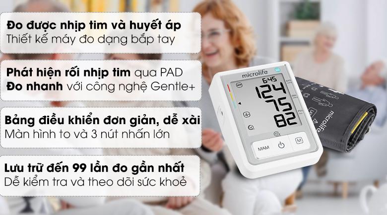 Máy đo huyết áp tự động Microlife B3 Basic