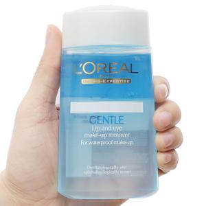 Nước tẩy trang L'Oréal tẩy mắt, môi 125ml