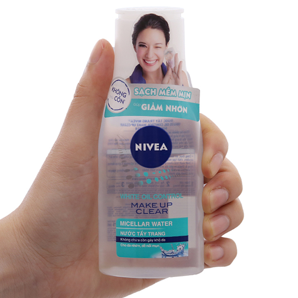 Nước tẩy trang Nivea sạch mềm mịn, giảm nhờn 125ml