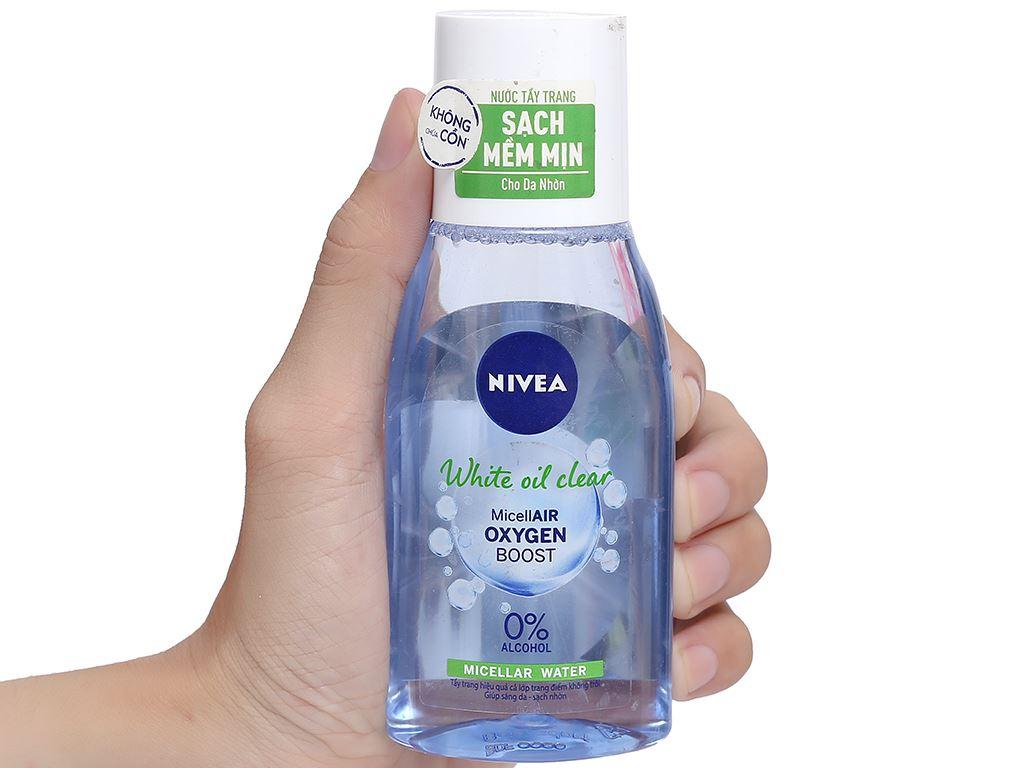 Nước tẩy trang Nivea sáng da sạch nhờn 125ml 8