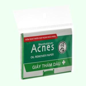 Giấy thấm dầu Acnes Oli Remover 100 tờ/gói