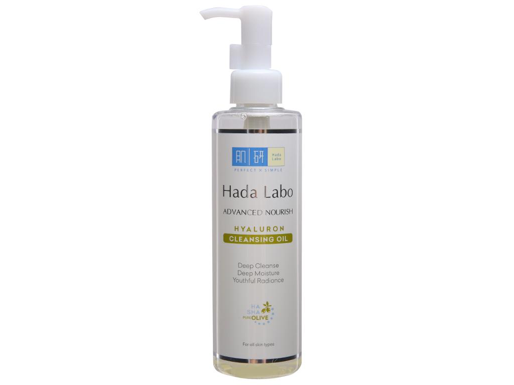 Dầu tẩy trang Hada Labo sạch sâu dưỡng ẩm 200ml 2
